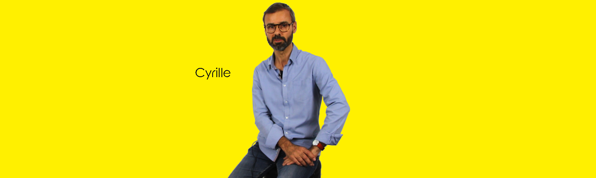 Cyrille Debuisson, dirigeant fondateur de l'agence